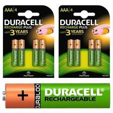 Duracell High Capacity NiMH Rechargeable Batteries