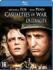 CASUALTIES OF WAR (Senn Penn, Michael J Fox) -  Blu Ray - Sealed Region B for UK