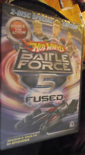 NEW DVD 2 Disc Special Edition Hot Wheels Battle Force 5 Fused Season 2 Vol 1-2