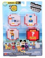 DISNEY Crossy strade Quattro Figure Mini Pack Zazu, DONALD, Woody Pack Nuovo Di Zecca in