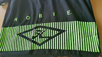 Vintage HOBIE Long Sleeve Shirt 2XT USA Made 80s/90s Black/Green Pre-Owned
