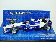 Minichamps Formula 1 Williams BMW FW23 R. Schumacher San Marino GP 1st Win 2001