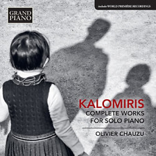 OLIVIER CHAUZU-KALOMIRIS: COMPLETE WORKS FOR SOLO PIANO-JAPAN CD F04