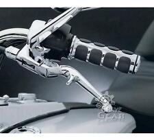 """1"""" Chrome Hand Grips Handlebar For Yamaha Vstar XVS 250 650 950 1100 1300 XV1600"""