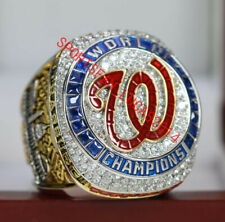 On SALE official 2019 Washington Nationals World Series Championship Ring 8-14Sz