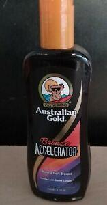 AUSTRALIAN GOLD BRONZE ACCELERATOR NATURAL DARK BRONZER 8.5 oz