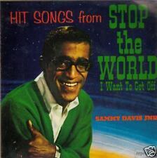 JAZZ SINGLE 45 SAMMY DAVIS Jr STOP THE WORLD 4 TRACK