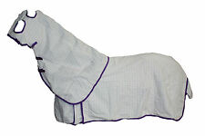 AXIOM POLYCOTTON LAVENDER RIPSTOP UNLINED HORSE HOOD COMBO SET 5'9