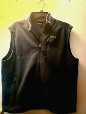Solaris Adventure Fleece Vest Slate Blue Zippered Front XXL Unisex