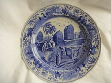 Spode Blue Room Collection Traditions Series Dinner Plate Caramanian Blue White