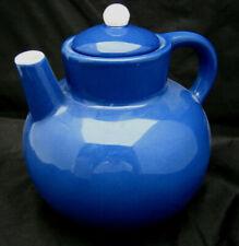 Metropolitan Museum Art Mma Teapot Vertical Spout Blue White 5 Cups Italy Unek