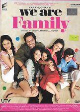 WE ARE FAMILY - ARJUN RAMPAL - KAJOL - BRAND NEW BOLLYWOD DVD - FREE UK POST