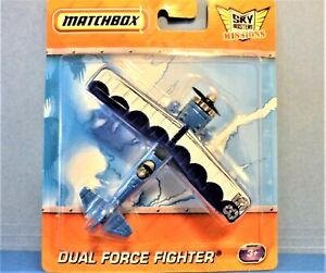 MATCHBOX DUAL FORCE FIGHTER, SKY BUSTERS MISSIONS SERIES, 2011 MFG YEAR