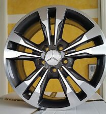Kit 4 Cerchi in lega 17 Mercedes Nuova Classe C W204 E W212 SW Elegance FAP W772