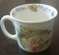Royal Doulton Classic Pooh Christopher Robin Mug Pooh Piglet MINT vintage rare