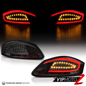 05-08 Porsche 987 Boxster Cayman S Smoke LED Neon Tube Rear Tail Light Lamp PAIR