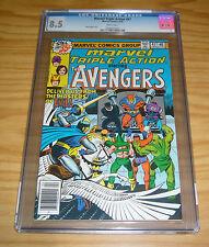 Marvel Triple Action #47 CGC 8.5 reprints avengers 54 1st ultron - steve ditko