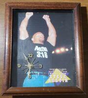 Vintage Stone Cold Steve Austin Clock WWF WWE Wrestling Man Cave Works 3:16