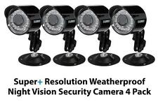 Lorex by FLIR CVC7662 4-Pack of Super+ Resolution 100' Night Vision Security KIT