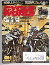 Cycle World Magazine January 2013- BMW F700GS, Honda NC700X, Suzuki V-Strom 650