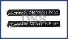 Genuine Powered Mercedes-Benz Black Decal Emblem Freightliner Dodge Sprinter Set