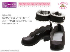 Azone Obitsu 48/50cm Sahras A La Mode Sweets Strap Shoes Dark Brown VMF50 MDD