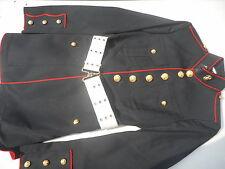 USMC Dress Blue Tunic Belt & Pants Size 36 L E.W. Aldred Tunic Dated 2001