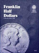 Whitman Franklin Half Dollar Coin Folder 1948-1963 #9032