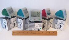 LOT OF 5 CENTURY CLOCKS P-856D NEW IN BOXES TIME DATE TEMPERATURE 9 ALARM TUNES