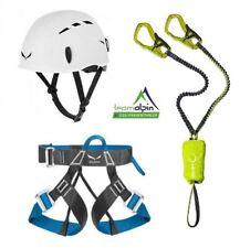 Climbing Equipment Edelrid Cable Kit 5.0+ Salewa Evo Strap + Salewa Toxo Helmet