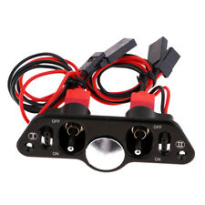Heavy Current Charging Power Switch for FUTABA/JR Connector for RC Airplane