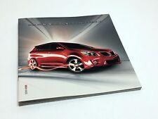 2009 Pontiac Vibe Brochure