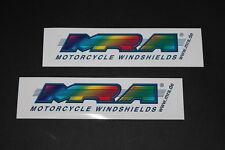 #39 MRA Parabrisas Motocicleta Adhesivo Bapperl Pegamento Moto Carrera