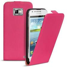 Flip case Samsung Galaxy s2 plus funda de cuero PU plegable funda móvil cartera cover