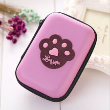 Headphones Case For Bluetooth or Wired Headset Earphone Earbuds Protective Bag