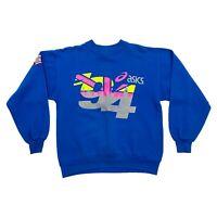 Asics NutraSweet London Marathon 94 Sweatshirt | Vintage 90s Sports Running VTG