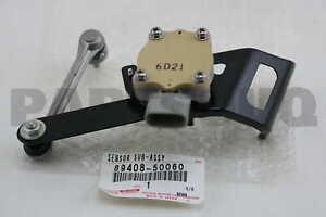 8940850060 Genuine Toyota SENSOR SUB-ASSY, HEIGHT CONTROL, REAR LH 89408-50060