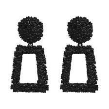 Elegance Women Hook Earrings Ear Stud Dangle Hoop Square Splice Jewelry Gifts