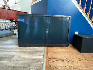 Panasonic HD plasma flat screen TV. Comes with Stand/Mounting bracket
