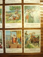 12 Olivet Picture Cards 1904-05 Providence Litho BIBLE Proverbs FREE Ship