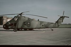 AIRCRAFT COLOUR SLIDE N23 ROYAL AIR FORCE WESTLAND WESSEX  XR497  KODACHROME