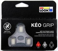 Genuine LOOK KEO GRIP Road Pedal Cleats 4.5° fits Classic Blade Carbon Max GRAY