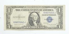 Godless In God We Trust Not Printed $ Silver Certificate 1935 Rare Variety *080