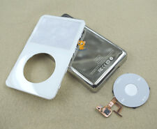White Front Faceplate Back Housing Case Cover Clickwheel for iPod 5th Video 60GB