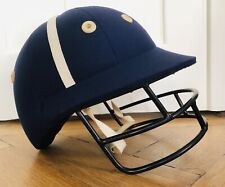 Luxury Polo Cap / Helmet with Faceguard, Made by Charles Owen in GB, Size 59 cm