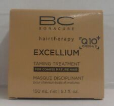 SCHWARZKOPF BC HAIR THERAPY Q10+ OMEGA 3 EXCELLIUM Taming Treatment~5.1/ 150 ml