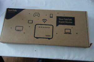 TalkTalk DSL-3782 Wireless Super Router with 12V Power Supply Bundle