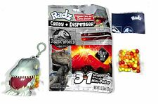 Radz Jurassic World Candy Dispenser Sealed 5 Packs Dinosaurs