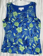NEW **CASUAL CORNER ANNEX**  Polyester, Sleeveless, Lined Top, Sz. 16
