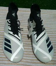 ADIDAS ADIZERO 5-STAR 7.0 FOOTBALL CLEATS WHITE NAVY BLUE MENS 12.5 $120